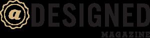 aDesigned Magazine Logo