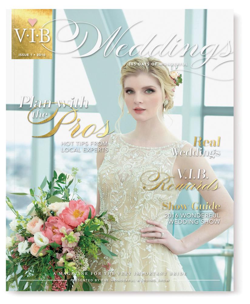 VIB Weddings Magazine Issue 1 Cover
