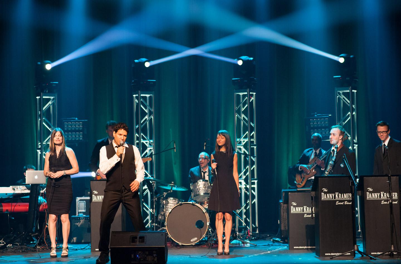 Danny Kramer Dance Band performing on stage