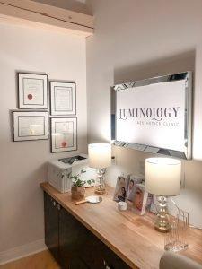 Luminology Aesthetics Clinic Signage